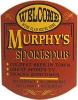 Sports Pub Sign - Personalized
