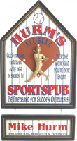 Baseball Sports Pub Sign Personalized with Nameboard