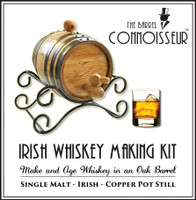 Barrel Connoisseur Kit - Make Your Own Irish Whiskey