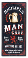Personalized Vintage Man Cave Sign