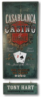 Vintage Casablanca Casino Sign