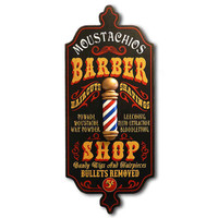 Antique Barber Shop Sign