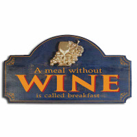 Vintage Wine Bar Plaque
