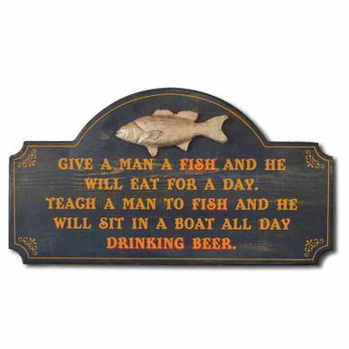 Fishing Plaque