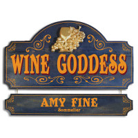 Wine Goddess Plaque