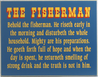 Behold the Fisherman Sign