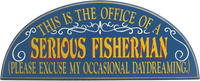Fisherman Office Sign