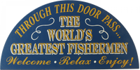 World&#039;s Greatest Fishermen Plaque