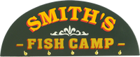 Fish Camp Key Rack