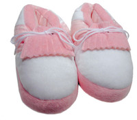 Baby Golf Slippers in Pink