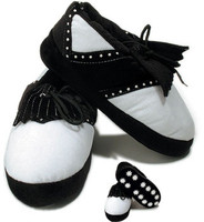 Golf Slippers, Mens, Black