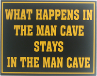 Man Cave Sign | Man Cave Wall Decor