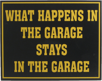 Man Cave Garage Sign | Garage Wall Decor