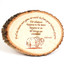 Custom Plaque in Natural Basswood | Engraved Clipart