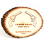 Custom Plaque in Natural Basswood | Engraved Award