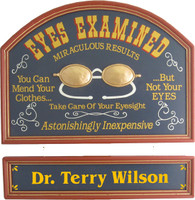 Optometrist Office Sign | Optometrist Gift