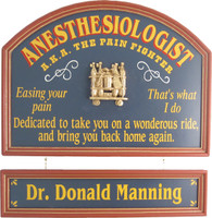 Anesthesiologist Office Sign | Anesthesiologist Gift