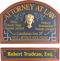 Attorney Gift Plaque | Lawyer Office Decor