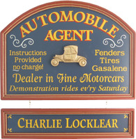 Auto Agent Gift | Car Dealer Gift | Wall Decor