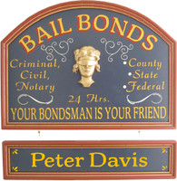 Bondsman Gift | Bondsman Sign | Office Decor