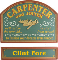 Carpenter Gift | Contractor Gift | Carpenter Wall Decor