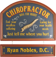 Chiropractor Gift | Chiropractor Sign | Office Decor