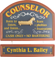Counselor Gift | Counselor Sign | Counselor Office Decor