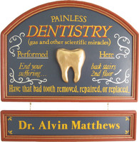 Dentist Sign | Dentist Gift Plaque | Office Decor