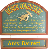 Design Consultant Sign | Designer Gift | Office Decor
