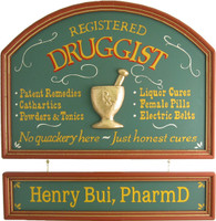 Pharmacist Sign | Druggist Sign | Pharmacist Gift