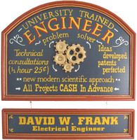 Engineer Gift | Engineer Sign | Engineer Plaque