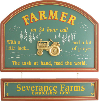 Farmer Gift | Famer Sign | Farmer Plaque
