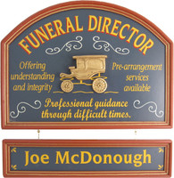 Funeral Director Gift | Funeral Director Sign | Undertaker Gift