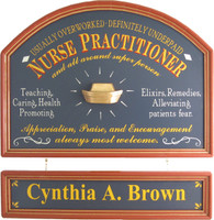 Nurse Practitioner Sign | Nurse Practitioner Plaque | Nurse Practitioner Gift