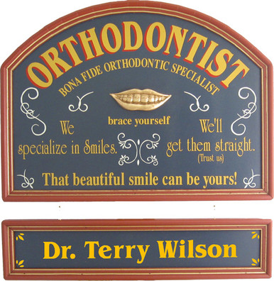 Orthodontist Sign | Orthodontist Gift | Orthodontist Plaque