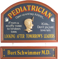 Pediatrician Sign | Pediatrician Gift | Pediatrician Plaque