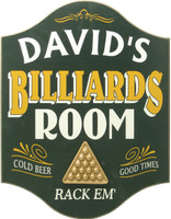 Billiard Room Sign | Personalized Billiards Sign | Game Room Decor