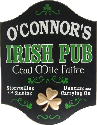 Personalized Irish Pub Sign | Custom Irish Sign