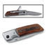 Custom Rosewood Handled Pocket Knife with LED Light