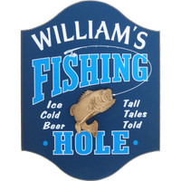 Fishing Man Cave Sign | Fisherman Custom Sign