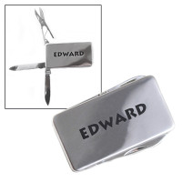 Personalized 3-Tool Money Clip Stainless Steel with Laser Engraved Customization