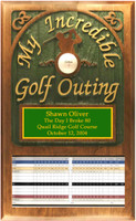 My Incredible Golf Outing Plaque