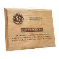 Laser Engraved Wood Plaques
