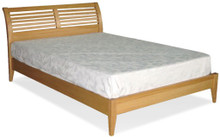 Bed Frame Luna Low Foot in Pacific Oak