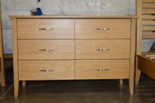 dresser 6 drawer solid wood