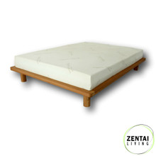 Platform Bed frame - Natural Oil Finish