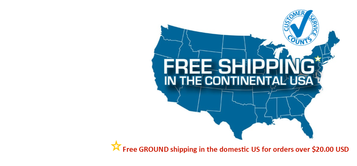 FREE Shipping over $20!