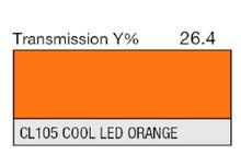 Lee Filters CL 105 Cool LED Orange Lighting Gel Sheet