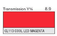 Lee Filters CL 113 Cool LED Magenta Lighting Gel Sheet