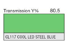 Lee Filters CL 117 Cool LED Steel Blue Lighting Gel Sheet